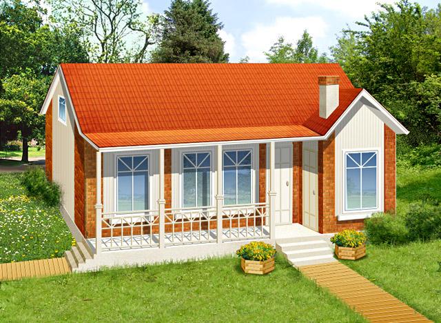 Построить одноэтажный дом своими руками недорого